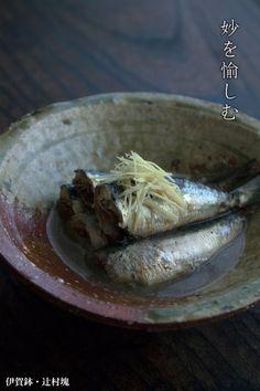 伊賀焼:伊賀鉢・辻村塊 Japanese Food, Cabbage, Pork, Foods, Meat, Vegetables, Kale Stir Fry, Food Food, Pigs