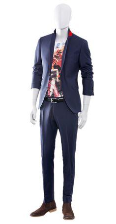 CLEAN & COOL  Anzug z.B. CLUB OF GENTS  Shirt z.B. EINSTEIN & NEWTON