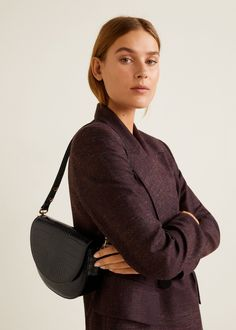 Multiway Crocodile effect Front lapel Short strap Magnetic metallic fastening Inner compartment Inner lining Crocodile, Mango Fashion, Crocs, Saddle Bags, Fashion Online, Latest Trends, Cool Outfits, Fashion Accessories, Shoulder Bag