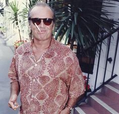 Jack Nicholson, American Actors, Hollywood, Men Casual, Instagram Posts, Mens Tops, Nest, Fashion, Icons