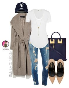 A fashion look from September 2015 featuring Helmut Lang t-shirts, Zara coats and Yves Saint Laurent pumps. Browse and shop related looks. Fashion Casual, Casual Chic, Love Fashion, Fashion Looks, Fashion Outfits, Womens Fashion, Fall Outfits, Casual Outfits, Cute Outfits