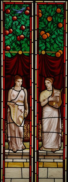 Music & Literature, Brian Waugh Stained Glass