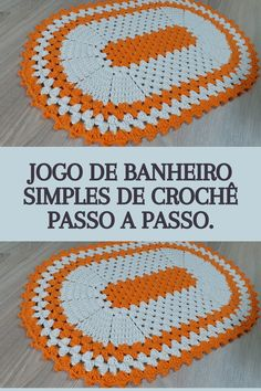 Bathroom Crafts, Crochet Rug Patterns, Free Crochet, Bath Mat, Projects To Try, Lily, Crochet Car, Bathroom Mat Sets, Crochet Edgings