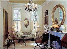 Modern Parlor in Neutral Colors