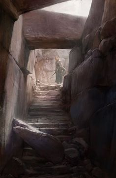 Into the crypt by Alexson