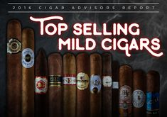 "Best Selling Mild Cigars: the 12 at the Top (Plus 4 More to Try) By John Pullo Say the words, ""best selling mild cigars in America,"" and you might be inclined to think a few things: first, that these smokes…"