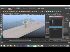 Maya 2016 tutorial : The Point constraint explained