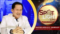 Watch another episode of Pastor Apollo C. Quiboloy's newest program, SPOTLIGHT. For your messages and queries, you can comment it down below so our Beloved P. Kingdom Of Heaven, Heaven On Earth, Spiritual Enlightenment, Spirituality, T Lights, New Program, Son Of God, Apollo, Spotlight