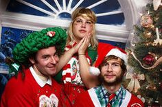 Punks love Christmas, too. Shannon and the Clams