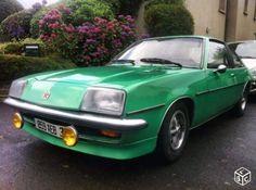 Vauxhall Cavalier GLS Coupe de 1977 : L'Opel Manta British