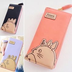 """Totoro Shop on Instagram: """"NEW!! 😆 Totoro Long Leather Wallet 💕💖 🌟Summer Sales $12.04 ✈️FREE Shipping Worldwide 🔰Buyer Protection Refund Guarantee >>Dont forget to use…"""""""