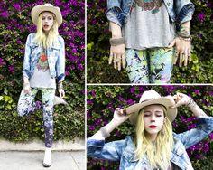 Acid Cowboy (by Madeline Pendleton) http://lookbook.nu/look/3443291-Acid-Cowboy