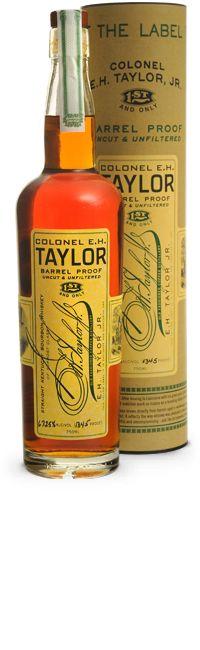 Review #26 - Colonel E.H. Taylor Barrel Proof #bourbon #whiskey #whisky #scotch #Kentucky #JimBeam #malt #pappy