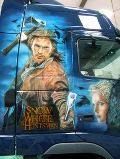 Customised Trucks, Airbrush, Rigs, Murals, Movie Posters, Movies, Style, Cars And Trucks, Wheels
