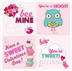 15 Owl Valentine's Day Printables
