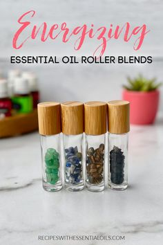 If you are tired and feeling sluggish boost your energy with essential oils. Reach for an Energizing Essential Roller Blend the next time you are feeling sluggish and need to finish the day strong! Essential Oils Energy, Oils For Energy, Essential Oils For Sleep, Doterra Essential Oils, Young Living Essential Oils, Essential Oil Blends, Wicca Crystals, Citrus Oil, Things That Bounce