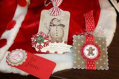 pinterest stampin up crafts christmas | Stampin' Up! Two Tags Susan Carpenter Christmas | Christmas Crafts