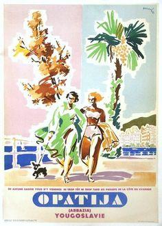 Chisholm Larsson Gallery has over Original Vintage Posters, spanning all genres. Vintage Travel Posters, Vintage Ads, Enchanted Island, Elegant Couple, Travel Ads, Vintage Landscape, Original Vintage, Retro Advertising, Old Images
