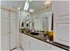Eastover mansion (with elevator) hits the market for $2.4M Master bath
