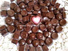 Pureed Food Recipes, Greek Recipes, Candy Recipes, Dessert Recipes, Desserts, Wedding Sweets, Pastry Recipes, Chocolate Truffles, Nespresso