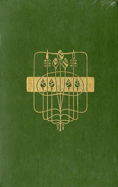 attractive cover design by Talwin Morris c1905 - he was a friend and contemporary of Charles Rennie Mackintosh