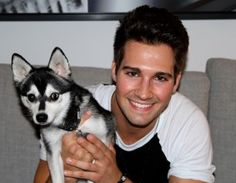 OnNickelodeon'sBig Time Rushtelevision show, James Maslow stars as James Diamond - no relation to Baby Hope Diamond!He barks about his new puppy l