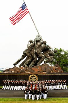 If you are visiting the D.C. area in the summertime, be sure and consult the Marine Corps on-line calendar. Summer schedule: Sunset Parades occur every Tuesday night (at the Iwo Jima Memorial) until mid-August at 7:45 p.m, no tickets required, positively inspirational.    http://marines.dodlive.mil/2013/04/23/silent-drill-platoon-schedule-2013/