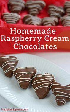 Chocolate cream candy makes great treats. I love how easy this cream filled candy recipe is to make with powdered sugar, condensed milk and a few other ingredients. So easy to make at home. Chocolate candy recipes like this one makes it so easy to make chocolate raspberry creams candy at home to give as a gift or enjoy yourself. Yum, can't wait to make some.