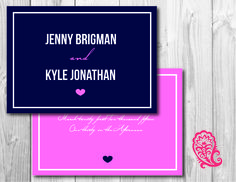 simple #invitation created by PaisleyPrintsOnline.com