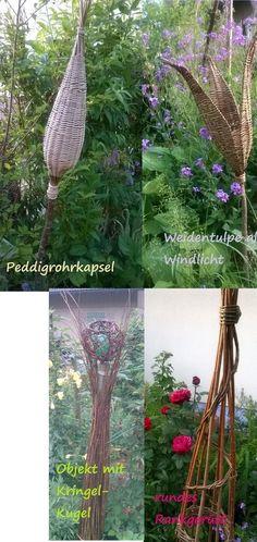 """mehr Fotos unter der Rubrik: """"Weidenkurse"""" und demnächst auf dieser Seite...bin bei schönem Wetter wieder draussen am Flechten :-)"""