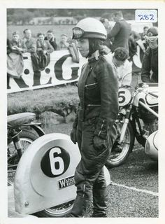 Inge Stoll - RIP, 11 February 1930 -  24 August 1958. At the 1958 Czechoslovakian Grand Prix, a non-championship event, the Norton sidecar outfit of Jacques Drion and Inge Stoll while holding 2nd place left the road on a right-hand corner on the penultimate lap. The sidecar outfit hit a fence and turned over. Inge Stol was killed instantly and Jacques Drion died after being admitted to hospital.