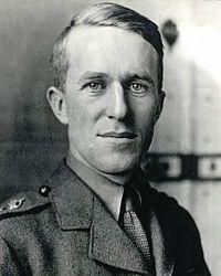 Lawrence en uniforme de l'armée britannique (1918).