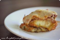Easy Eggplant Parmesan {Recipe}