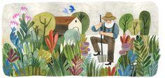 http://www.felicitasala.com/picture-books-1/secret-garden
