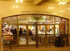 The evening meal would not be complete without a stop at Grand Central Market