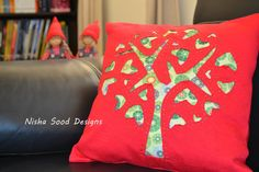 Reverse Applique tree
