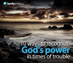 """The Bible verse Psalms 46:10 says, """"Be still and know that I am God."""" When we face difficulties in our life that would make it seem as if we are on a ship being tossed upon a stormy sea, how exactly can we be still while a storm rages around us?"""