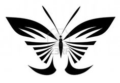 abstract tattoo - a magic butterfly Stock Photo - 8542697