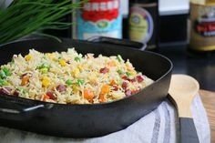 Voici une recette facile de riz cantonais réalisée avec Hervé Cuisine et Margot, de Recette d'une chinoise. Facile à refaire, et super bonne !