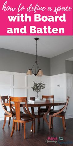 How To Define A Space With Board And Batten Full Tutorial For Budget