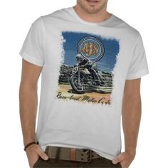 AJS VINTAGE MOTORCYCLES. SHIRTS