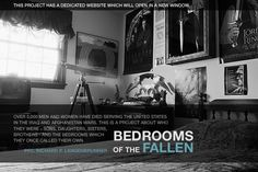 "ashley gilbertson - from the series ""Bedrooms of the Fallen"""