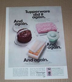 Tupperware ad