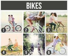 Prop Ideas For Couples: Bikes