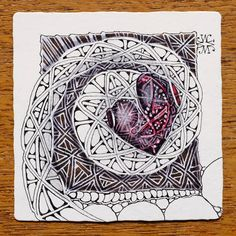 Zentangle: February 2014 by Maria Thomas, Zentangle co-founder