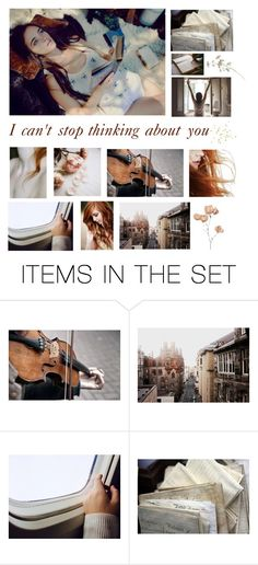 """Can't stop thinking about you"" by muluna ❤ liked on Polyvore featuring art"