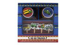 Kit para Decorar Cupcakes Camiones (48 pzas.) from Super Materias Primas