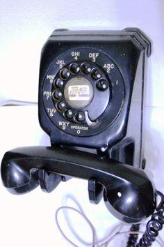 Teléfono de colgar.