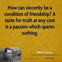albert camus quotes | Albert Camus Friendship Quotes | QuoteHD
