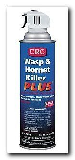 CRC Industries 14010 Wasp and Hornet Killer Plus Insecticide by CRC. $7.73. This fast-acting, high-strength insecticide kills wasps, bees, all crawling insects and other stinging insects on contact.